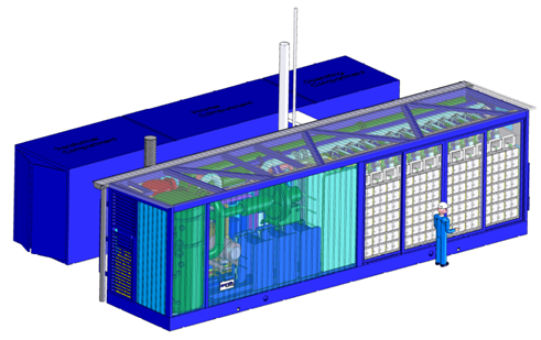Lay Out - 1 MW fuel cell centrale_0