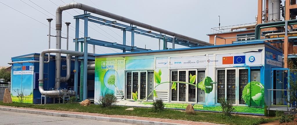 PEM Hydrogen Fuel Cell Power Plant